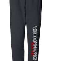 Mystic Falls Timberwolves Sweatpants  (Vampire Diaries) - Run BIG