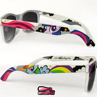 Sunglasses - Small Wayfarer style sunglasses My Little Pony unique hand painted