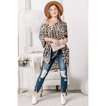 All For One & One For All Cheetah Printed Top