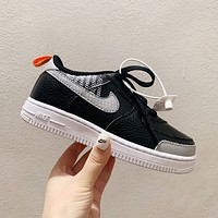 Nike Child Girls Boys shoes Children boots Baby Toddler Kids Child Fashion Casual Sneakers Sport Shoes