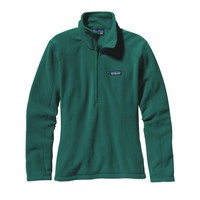 Patagonia Women's Micro D® Quarter Zip Fleece | Arbor Green