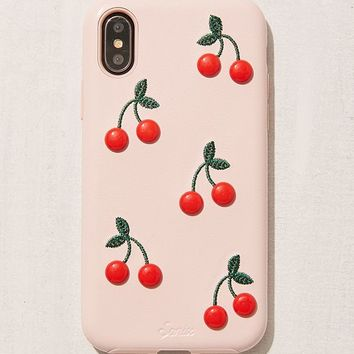 Patent Cherry iPhone X Case | Urban Outfitters