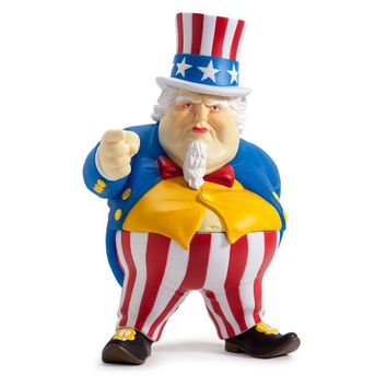 Kidrobot Uncle Scam 8-inch vinyl figure by Ron English