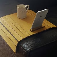 Wood table,home decor,cocktail table,furniture,sofa desk,wood furniture, writing desk,sofa tray table,couch desk,couch tray,wood desk tray