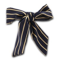 Striped Satin Wired Hair Wrap