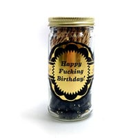 Happy Fucking Birthday Jar