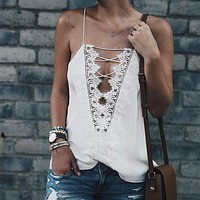 Laced Up Tank