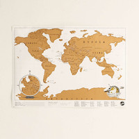 Travel Scratch Map - Urban Outfitters