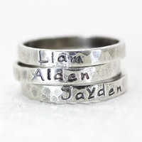 Personally Yours Name Rings