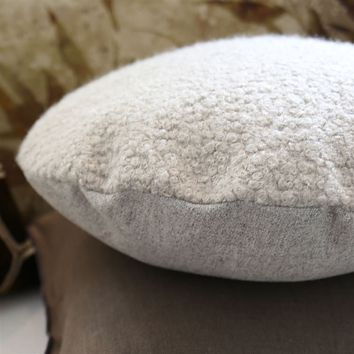 Baluchi Natural Throw Pillow by Designers Guild