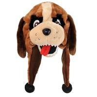 Forever Collectibles New Orleans Saints Mascot Dangle Hat - Adult, Size: One Size (Snt Team)