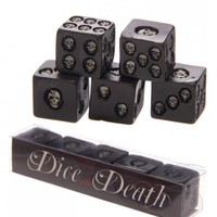Skull Dice With Death Set | Attitude Clothing