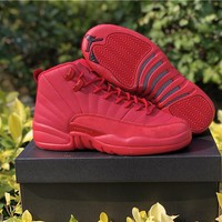 Air Jordan 12 Bulls Aj 12 Retro Basketball Shoes | Best Online Sale