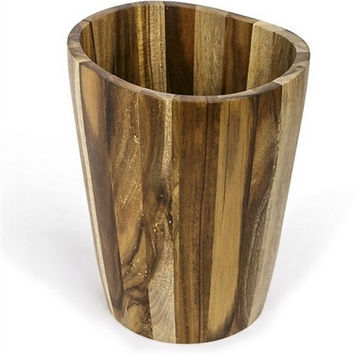 Acacia Luxury Bath Accessories-Waste Basket