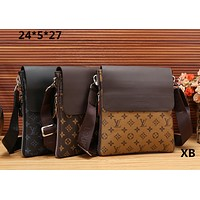 LV Single shoulder oblique cross briefcase [305799921693]