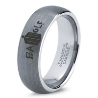 Dr Who Ring Doctor Time Lord Design Bad Wolf Gallifrey Symbol Ring Mens Geek Sci Fi Jewelry Boys Girl Women Ring Fathers Day Gift Holiday Tungsten Carbide 50