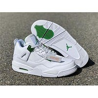 Air Jordan 4 Retro Pine Green