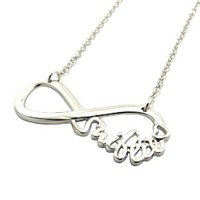 "New Celebrity Fans 'SWIFTIE' Pendant 3mm &18"" Link Chain Fashion Necklace XC424R"