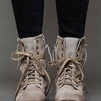SixtySeven  Greyson Lace Up Boot at Free People Clothing Boutique
