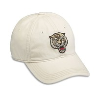 Lucky Brand Tiger Patch Bball Hat Mens - Ivory (One Size)