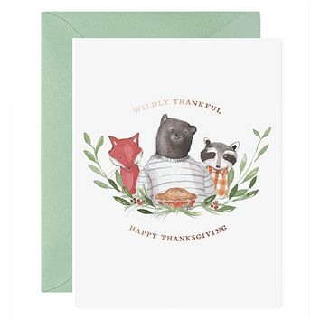 Wildly Thankful Card