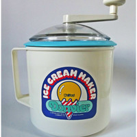 Vintage New Hand Operated Ice Cream Maker