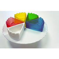 The Cake Slice Du Jour Storage Cups