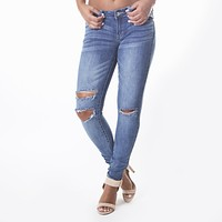Elise Distress Denim Pants