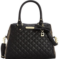 Betsey Johnson Dots Dome Satchel