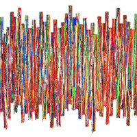 Modern Abstract Painted Wood Original Wall Sculpture -  Life Experience no17- Paint on Wood Original Wall Sculpture - by Rosemary Pierce