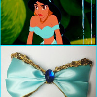 Princess Jasmine Inspired Disney Hair bow