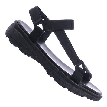 Catch35 Harness Strap Sport Sandals - Womens Fashion Open Toe Chunky Flatform