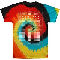 Vampire Weekend Men's  Dots Tie Dye T-shirt Tie Dye