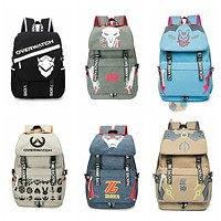Overwatch Canvas Backpack