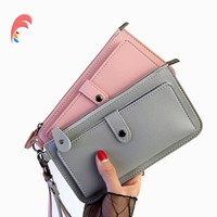 Women Wallets Fashion Leather Wallet Female Purse Women Clutch Wallets Money Bag Ladies Card Holder Zipper Wristlet AM818#