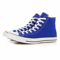 Converse Dark Blue Hi Top Trainers - View All Shoes - Shoes and Accessories