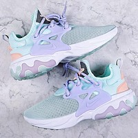 Nike Presto React Fashion Women Breathable Sport Running Shoes Sneakers Mint Green