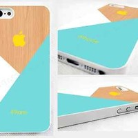 case,cover fits iPhone models>Pastel>blue>pic of wood,geometric,abstract,retro