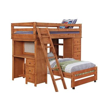G460243 - Wrangle Hill Bedroom - Amber Wash