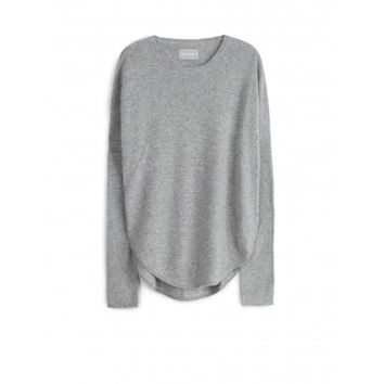 sweater for woman kimmy patch c grey marl Zadig&Voltaire