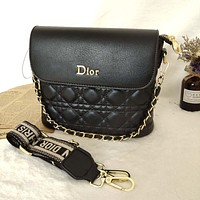 Dior CD retro princess bag hot sale fashion lady chain bag one shoulder messenger bag