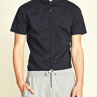 Dotted Slim Fit Shirt