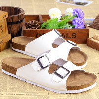 Anti-skid Sandals Couple Soft Summer Beach Korean Fashion Casual Slippers [10209437516]