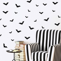 Flying Bats Mini-Pack Wall Decals