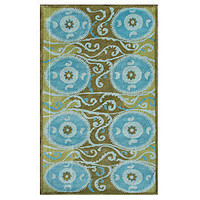 Z Gallerie - Suzani Tile Rug - Green