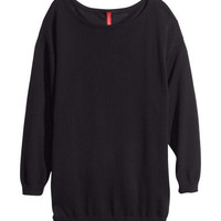 Fine-knit jumper - from H&M