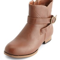 Wrapped Buckle Ankle Bootie: Charlotte Russe
