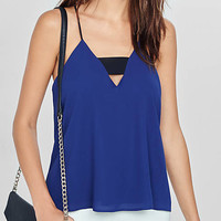 Zip Back Short Bandeau Cami from EXPRESS