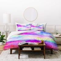 Jacqueline Maldonado The Calm And The Storm Duvet Cover