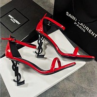 Yves Saint Laurent YSL Popular Women Princess High Heels High-Heeled Shoes Sandals